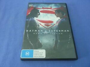 Batman V Superman Dawn Of Justice DVD Henry Cavill Ben Affleck R4 Free Postage