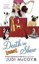 Death in Show: A Dog Walker Mystery-ExLibrary