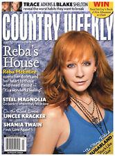 Country Weekly January 17 2011 Reba McEntire Steel Magnolia Uncle Kracker