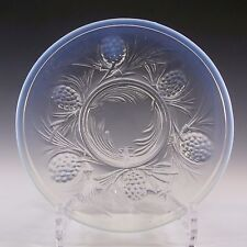 Jobling art deco opaline/opalescent verre fircone plaque #2