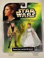 Star Wars Princess Leia and Luke Skywalker NEW Action Figure Set c. 1997