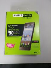 """Simple Mobile 4G LTE Data TLC A1 5"""" Touchscreen 16 GB Smartphone"""