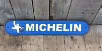 Large Michelin Blue Sign Large Cast Iron Man cave Garage Gift