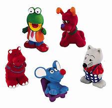 Hundespielzeug Latex Tierfiguren 5er Set Quietscher Spielzeug Hund quietschend