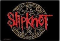 Slipknot Logo Diabolic Groß Stoff Poster 1100mm x 750mm (Hr )