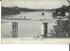 Postcard - Bridge, Lane Cove River, Sydney, Australia, 1907.