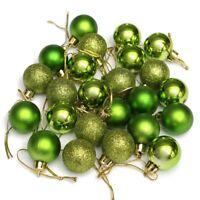 árbol de Navidad Bolas Decorativas BOLA COLGANTE, FIESTA ADORNO décor-24pcs-3cm
