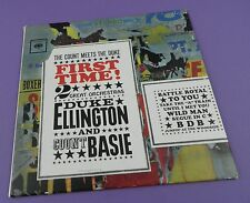 Duke Ellington Count Basie - First Time! The Count Meets the Duke - Unused Stock