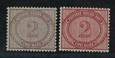 CKStamps: Germany Stamps Collection Scott#36 36a Mint H OG