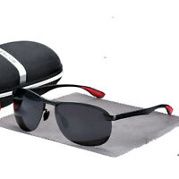 Aluminum Polarized Photochromic Sunglasses Men Transition Lens Driving Eyewear