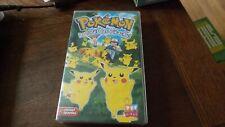 Cassette  Video de Pokemon La foret de  Pikachu !