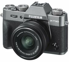 FUJIFILM X-T30 Mirrorless Camera with FUJINON XC 15-45 mm f/3.5-5.6 OIS PZ Lens