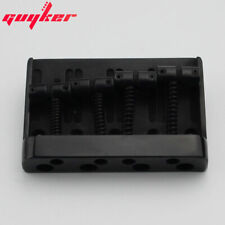 4 string bass bridge tailpiece 19mm spacing black BB031