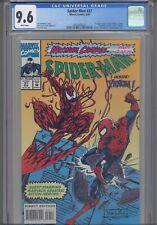 Spider-Man #37 CGC 9.6 1993 Marvel Comics Carnage, Venom. Cap America, Cloak App