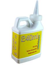 Dye Sublimation Ink Yellow 240ml For Epson Et 2720 Et 2760 Printers Non Oem