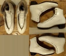 Ice Figure Skates Boots Only with foam pad on tongue 950Aa Women Size 7