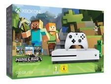 Microsoft Xbox One S (Aktuellstes Modell)- Neu, OVP, Minecraft Bundle 500GB Weiß