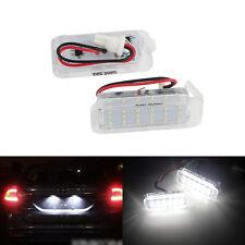 2x 18 SMD Eclairage de plaque LED pour Ford Fiesta VI Kuga S-Max Jaguar XF XJ