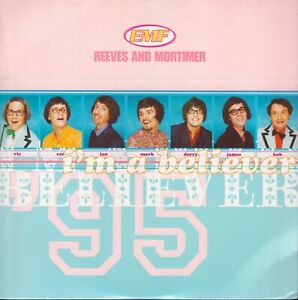 """EMF, Reeves And Mortimer – I'm A Believer. 7"""". New. Mint"""