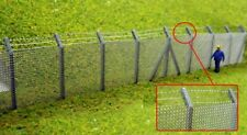 Ancorton 95722 Secuity Fencing Kit 2 x 240mm 1/76 Scale =00 Gauge Metal/Wood Kit