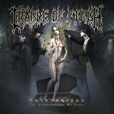 CRADLE OF FILTH-CRYPTORIANA-THE SEDUCTIVENESS OF DECAY PICTURE 2 VINYL LP NEW+