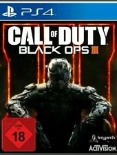 Call Of Duty: Black Ops 3 Deutsch ps4 (Sony PlayStation 4) Versiegelt NEU OVP