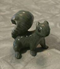 Vintage Hagen Renaker Miniature Gray Squirrel Animal Figurine