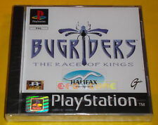 BUGRIDERS THE RACE OF KINGS PS1 Versione Europea 1ª Edizione ○○○○○ NUOVO