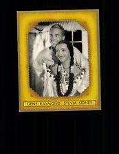 Gene Raymond und Sidney Sylvia Bunte Filmbilder Drama Zigarettenbild Bild Nr.431