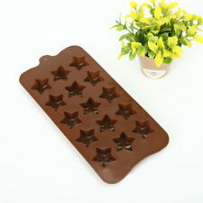 Stars Silicone Chocolate Cake Mould Ice Cube Soap Kitchen Baking Mould LG