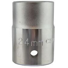 "24mm 3/4"" Drive Metric Shallow Socket 6 sided Single Hex Chrome Vanadium Steel"