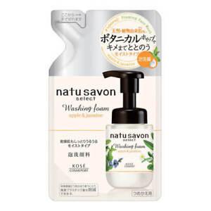 ☀Kose Softymo NATU SAVON SELECT Washing Foam 160ml Refill - (Moist type) F/S