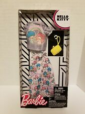BARBIE MATTEL HELLO KITTY FASHION PACK OUTFIT LTS LITTLE TWIN STARS 2018 NEW
