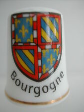 Dé à coudre Thimble - BOURGOGNE BLASON