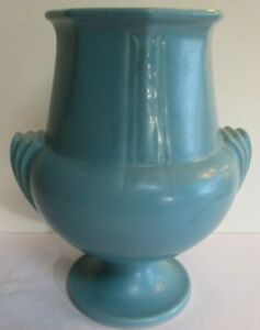 Roseville Russco 109-8 Blue Futura like buttressed handles