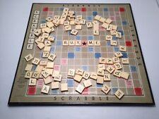 Vintage No.71 Scrabble De luxe! Estate Find! Good Original Condition! AS IS!
