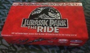 1997 Limited Edition Dupont Jurassic Park the Ride Nascar Jeff Gordon 1:64 set