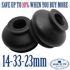 2 X UNIVERSAL Dust Boot Silicone 14 33 23 Track Rod End and Ball Joint Boots