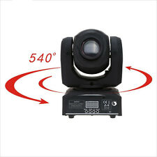 30W LED Head Moving Light DMX-512 Pattern Gobe Beam Spot DJ Xmas Stage Lighting