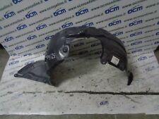4mm PVC Mk1 Kit Parafanghi Nera Logo Argento 07-09 RALLY ANTERIORE MAZDA 3 MPS