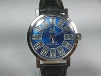 Vintage Titus Mechanical Hand Winding Movement Mens Analog Dial Wrist Watch C9