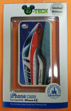 D-TECH DISNEYLAND RED MONORAIL IPHONE 4 4S CASE LIMITED EDITION (BRAND NEW)