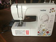 USED BROTHER SEWING MACHINE PORTABLE JX2517 ( MISSING/BROKEN PARTS)