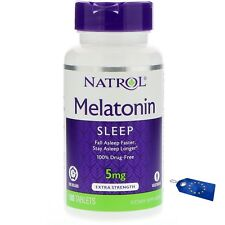 Natrol sleep formula Time Release 5 mg, 100 Tablets sleep Schlaf schlafen N13