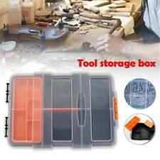 Plastic Carry Tool Storage Case Spanner Screw Parts Hardware Organizer Box Kit