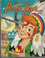 Walt Disney's Peter Pan Coloring Book from 1952