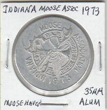 Lam (Z) Token - Indiana Alce Association - 1973 - 35 mm Alluminio