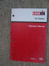 Case IH  VA Tractor Operator Manual FIND MORE CASE ITEMS IN OUR STORE    S