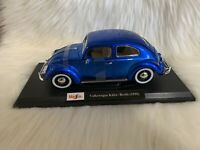 Maisto 1955 Exclusive Style Volkswagen Kafer- Beetle Special Edition NIB