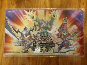 Yugioh Toon OTS Playmat Black Magician Yu-Gi-Oh! Brand new sealed Unopened Mat
